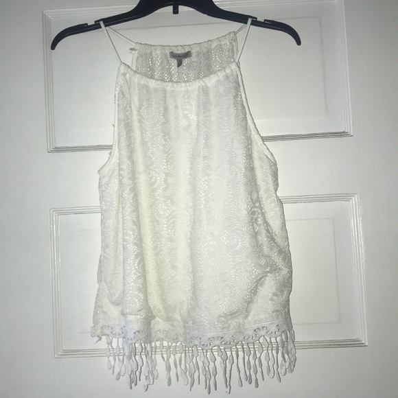 Charlotte Russe Tops - Lace Tank Top